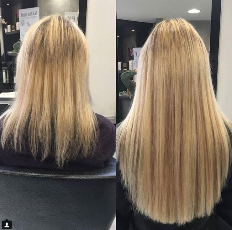 pose de cheveux